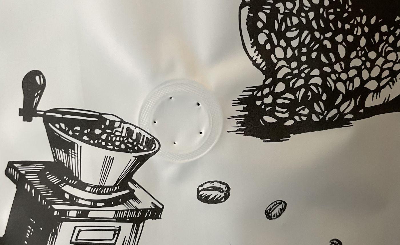 Зачем нужен клапан на кофейной упаковке?